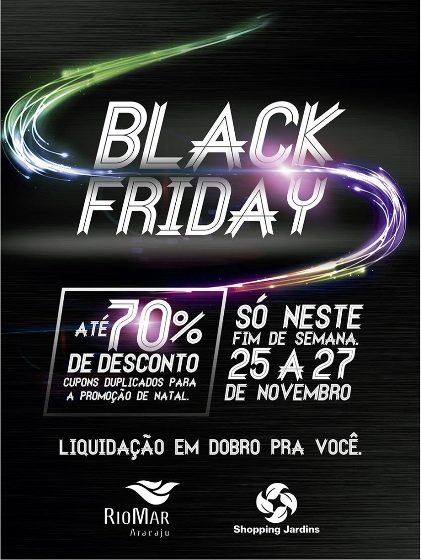 48a44a2dafb Black Friday  Shopping Jardins e RioMar Shopping oferecem descontos ...