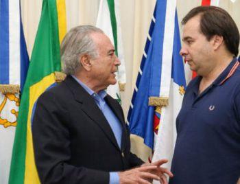 Rodrigo Maia marca para 2 de agosto votação da denúncia contra Temer no plenário