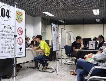 Passaportes voltam a ser emitidos a partir desta segunda-feira