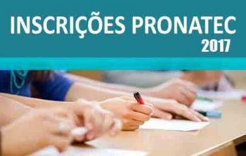 Esta terça é o último dia para fazer a inscrição em cursos do Pronatec