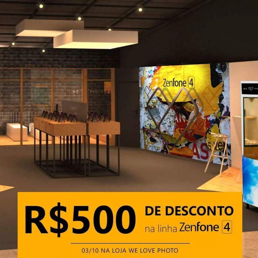 Ganhe 500 reais de desconto em nova linha Zenfone 4