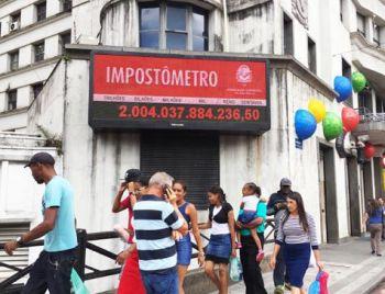 Volume de impostos pagos pelos brasileiros subiu 8% em 12 meses