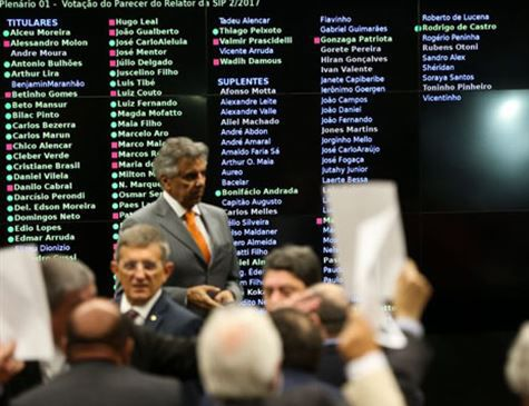 Votação da denúncia contra Temer deve dominar debates desta semana na Câmara