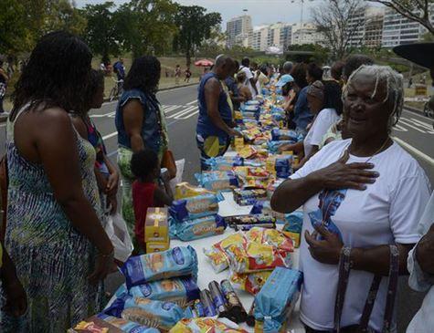 Campanha Natal sem Fome pretende arrecadar 500 toneladas de alimentos