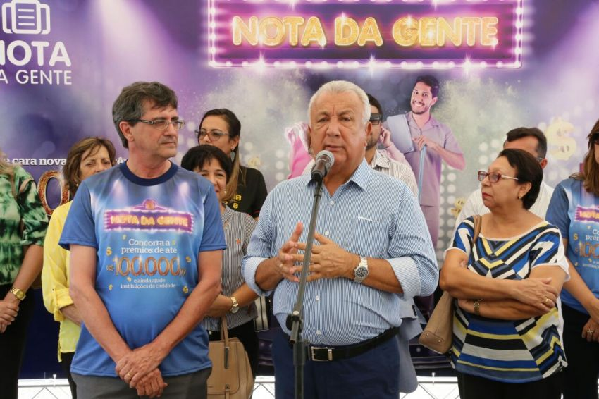 Governador lança nova versão do Nota da Gente e entrega Data Center
