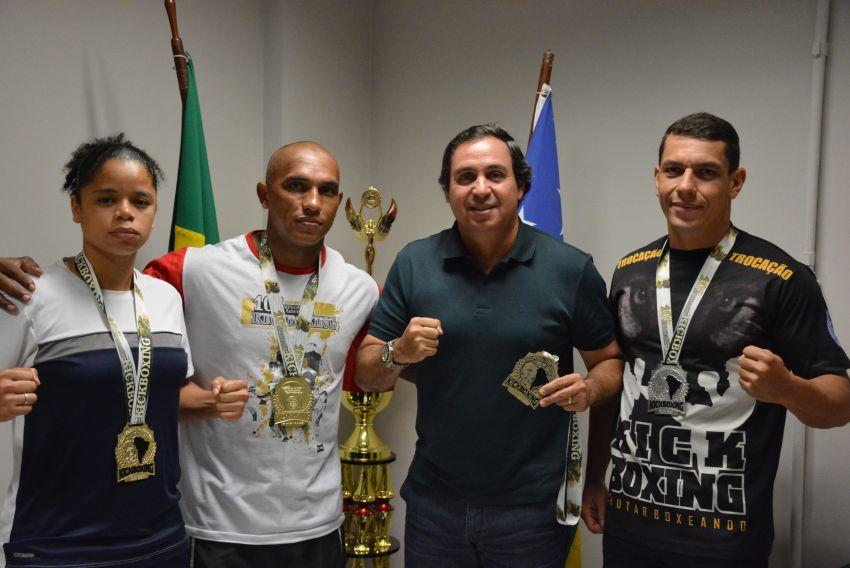 Sergipe faz bonito no Sul-Americano de Kickboxing