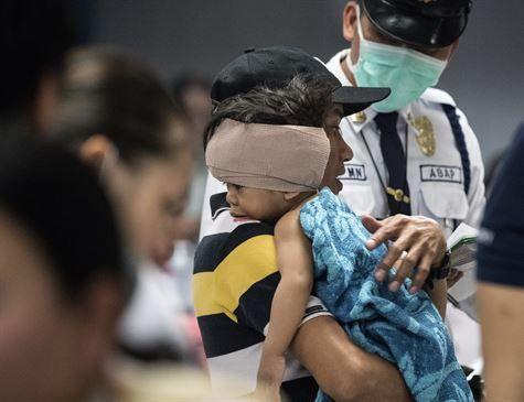 Rojões deixam 200 feridos no Ano-Novo nas Filipinas