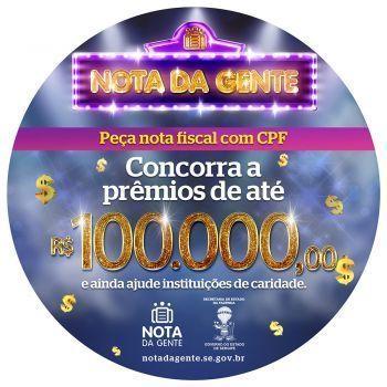 Segunda-feira cinco consumidores vão ganhar entre R$ 100 mil e R$ 10 mil