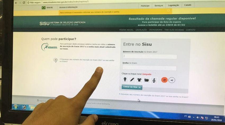 MEC divulga lista de aprovados do Sisu 2018