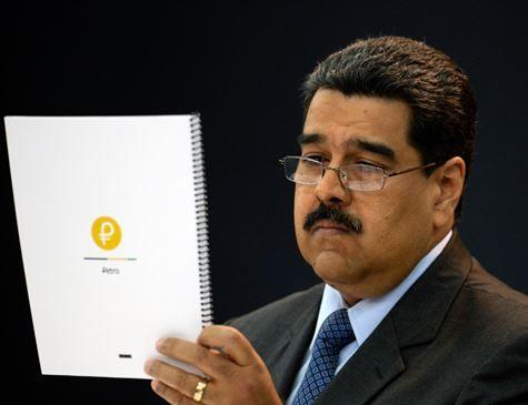 Maduro diz que pré-venda de moeda virtual rendeu US$ 735 milhões