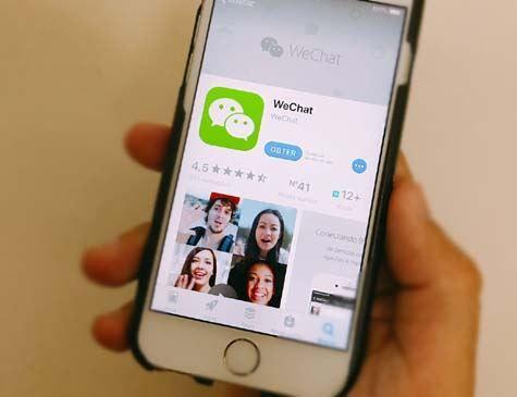 Aplicativo chinês WeChat supera um bilhão de contas