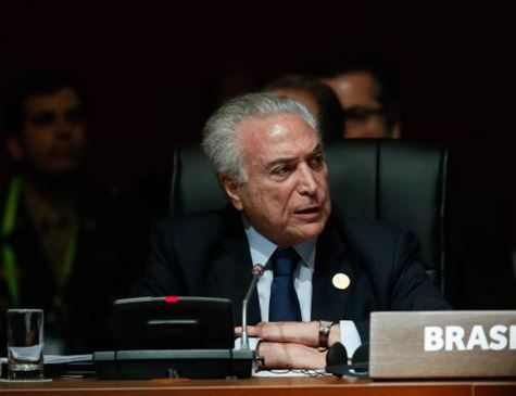 Conflito na Síria preocupa, diz Temer na Cúpula das Américas