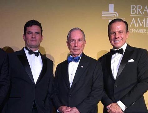 Moro cita fotos de Lula com Aécio e Geddel para negar suspeição por posar com Doria
