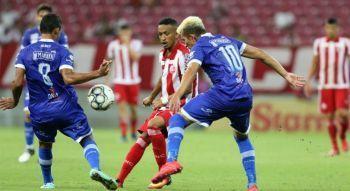 Série C: Confiança perde em casa para o Náutico em jogo de muitos gols