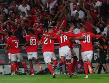 Champions: Benfica vence Fenerbahçe na 3ª fase preliminar
