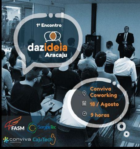 Empreendedorismo inovador: 1º Encontro Dazideia Aracaju acontece neste sábado, 18