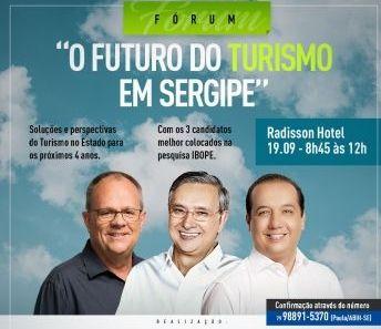 Fórum discutirá o futuro do turismo em Sergipe com candidatos ao governo de Sergipe