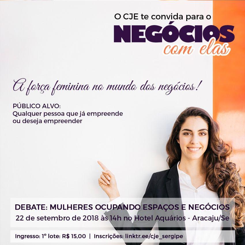 CJE realiza 1º evento de empreendedorismo feminino