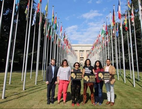 Viúva de Marielle vai à ONU denunciar falta de respostas sobre crime