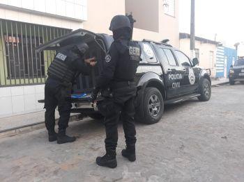 Polícia Civil deflagra operação em Simão Dias contra tráfico e homicídios