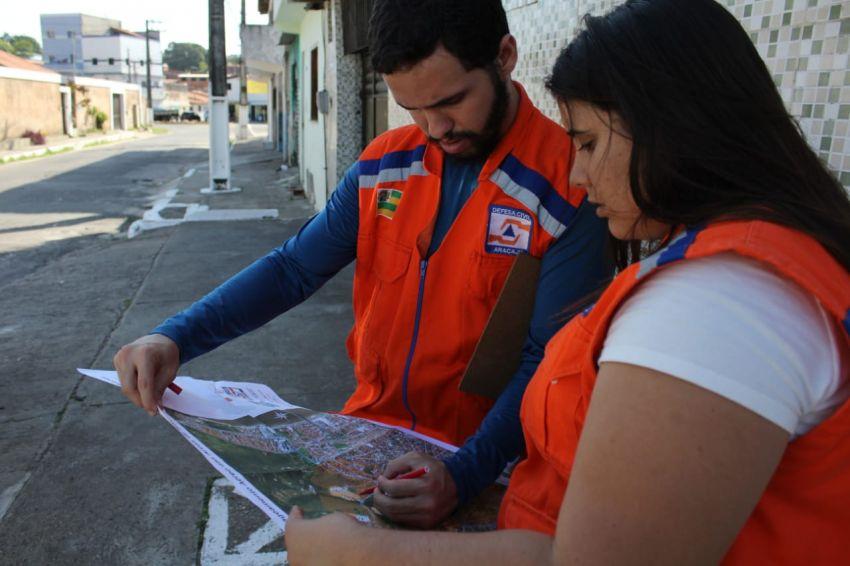 Defesa Social amplia mapeamento de áreas de risco em Aracaju