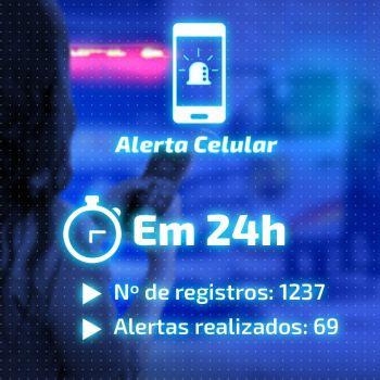Alerta Celular SSP registra aumento no registro dos cadastros de usuários