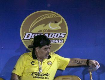 Maradona volta ao México como técnico da segunda divisão