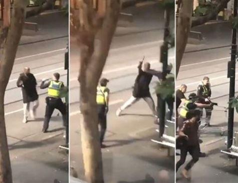 Terrorista mata um e fere dois em ataque com faca na Austrália