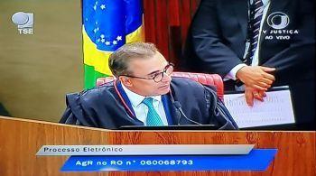 Ministro-relator votou pelo indeferimento do registro de candidatura de Luciano Bispo