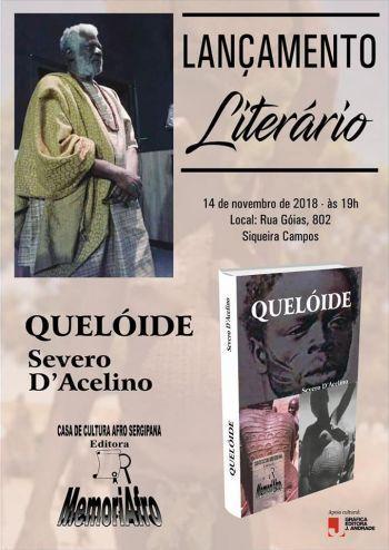 Severo DAcelino lança nova obra de poemas nesta quarta