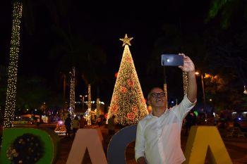Edvaldo abre a programação do Natal Iluminado 2018