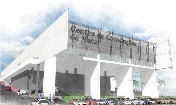 Moderno Centro de Convenções será inaugurado neste sábado