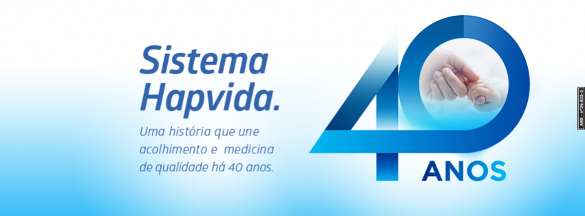 Sistema Hapvida Saúde completa 40 anos