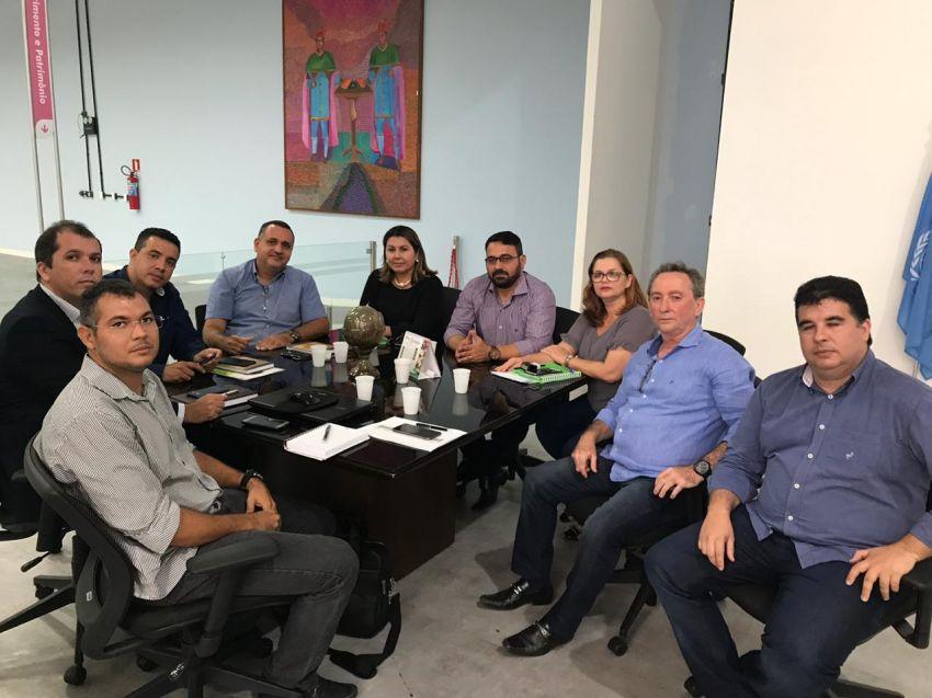 Reunião discute detalhes técnicos para implantação do Centro de Diagnósticos CONIVALES
