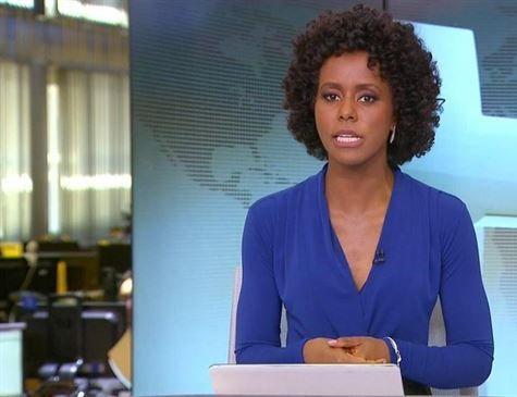 Maju Coutinho será a primeira negra na bancada do JN