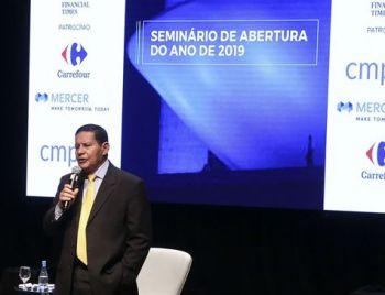Mourão diz que reforma da Previdência abrirá caminho para equilíbrio fiscal