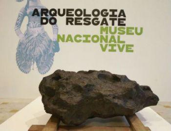 Exposição: Museu Nacional Vive mostra itens resgatados de escombros