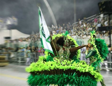 Mancha Verde é campeã do Carnaval de São Paulo