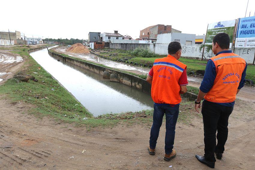Serviços de prevenção evitam transtornos durante período de chuva em Aracaju