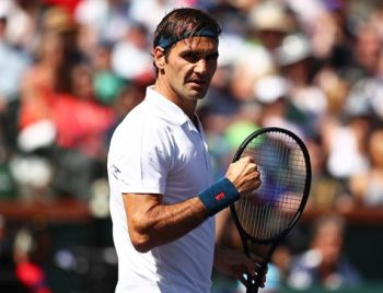 Federer acha difícil jogar torneios no Brasil