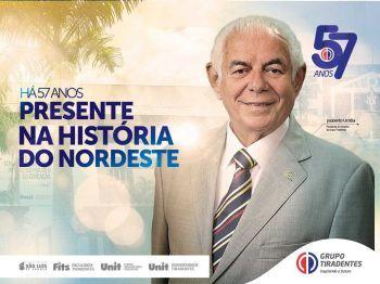 Celebração de 57 anos do Grupo Tiradentes tem vasta programação gratuita
