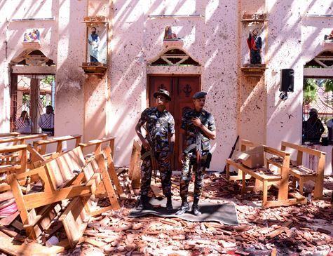 Polícia fez alerta sobre possíveis atentados no Sri Lanka há dez dias