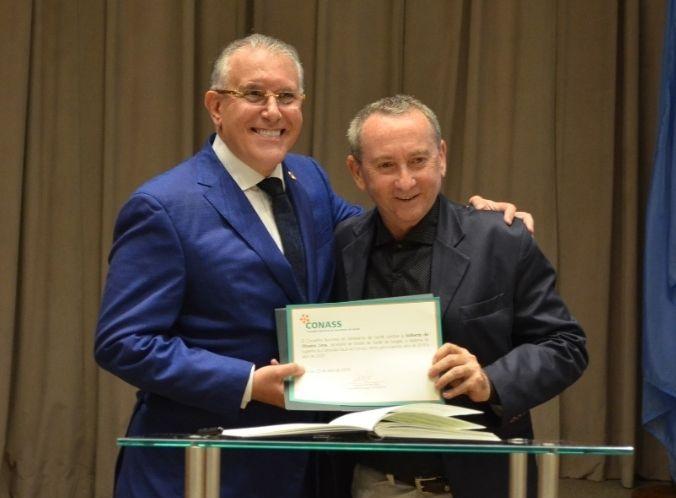 Valberto de Oliveira integra nova diretoria do Conselho Nacional de Secretários de Saúde