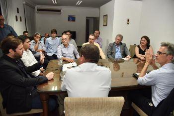 Governo, prefeitura e empresários dialogam sobre rotas de cruzeiros marítimos