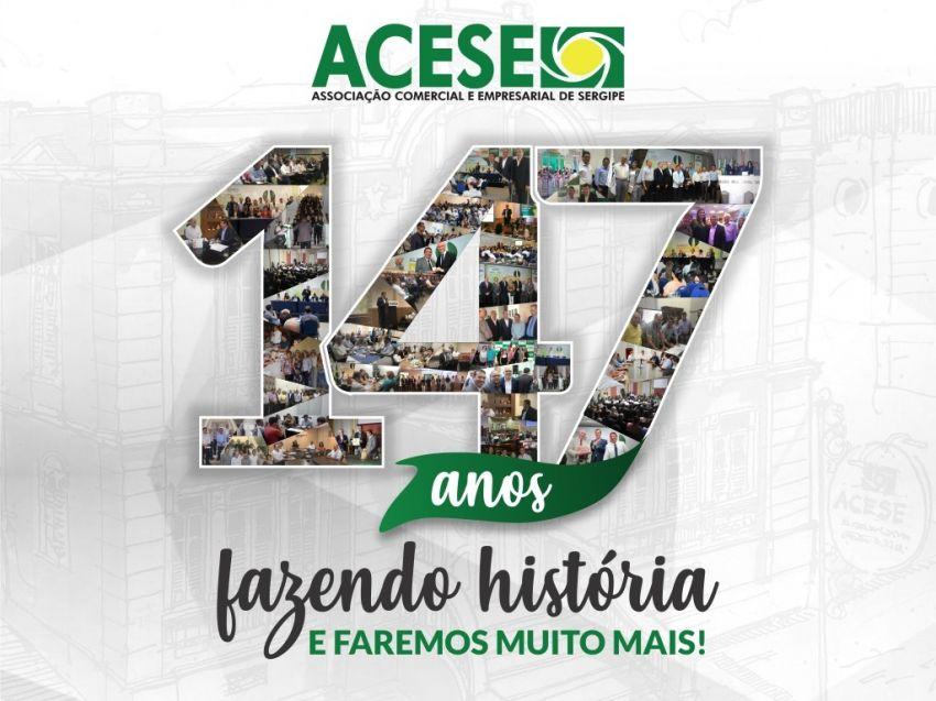 ACESE comemora 147 anos com um novo modo de pensar Sergipe
