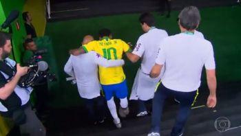 Neymar é cortado da seleção por lesão e está fora da Copa América