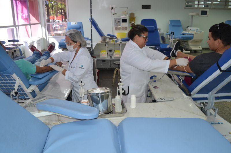 Hemose realiza programação para o Dia Mundial do Doador de Sangue