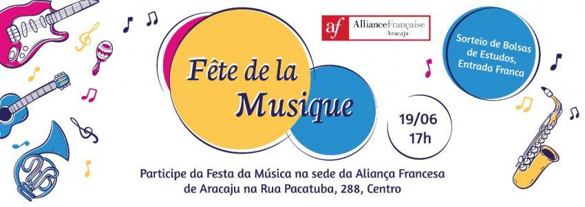 Aliança Francesa realiza 1ª Festa da Música em Aracaju