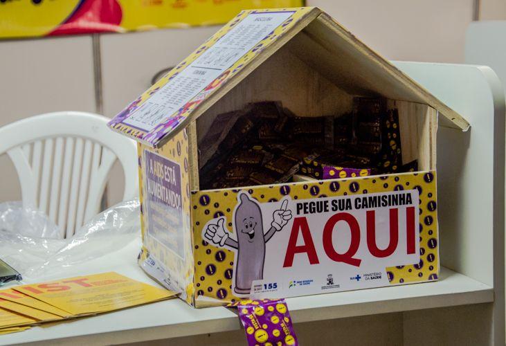 Governo disponibilizará 20 mil preservativos no Arraiá do Povo