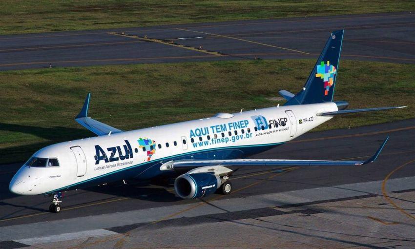 Azul confirma voos diretos de Aracaju para Salvador e Campinas